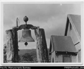 Church bell in South West Bay, Malekula