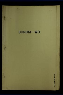 Report Number: 222 Agricultural Assessment W.H.D. Tea Lands, Bunum-Wo, 1p. Includes map with scal...