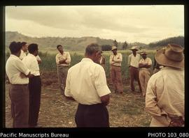 Alliance Party Nadi cane fields: With the farmers