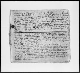 Journal describing a voyage made by Rev. John Williams and Rev. Robert Bourne from Raiatea to Ait...