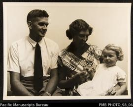 Rev. John Hyslop and family, Tongoa