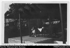 Paton's front verandah, school distant left