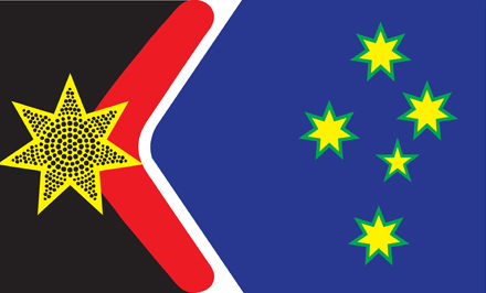 Dr John Blaxland&#039;s proposed new flag. 