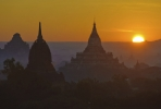 Sunrise over ancient Bagan, Myanmar. Photo by javarman3/ istockphoto.