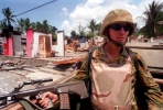 An Australian soldier in Timor-Leste. Photo by Department of Defence.