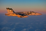 A US F/A-18E flies over the East China Sea. Photo by US Navy on flickr.