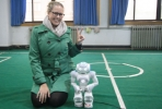Hi, Robot: Alicia Mollaun with some of the hi-tech research she saw at Chinese universities.