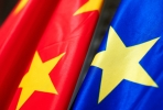 The flags of China and the EU. Photo by friendsofeurope on flickr.