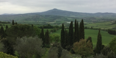 Val d'Orcia. Image courtesy of Judith Pabian