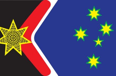 Dr John Blaxland's proposed new flag.