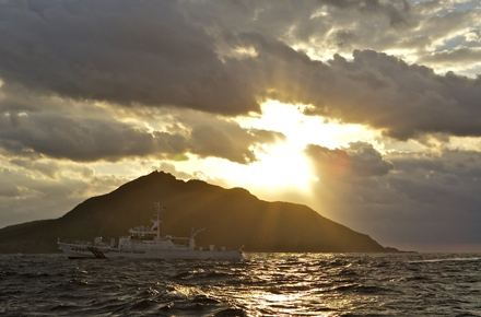Japanese Coast Guard patrol the waters around the disputed Senkaku/Diaoyu islands. Photo by Al Jazeera English on flickr.