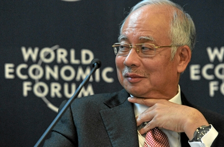 Malaysiam Prime Minister Najib Razak. Photo by World Economic Forum on flickr.
