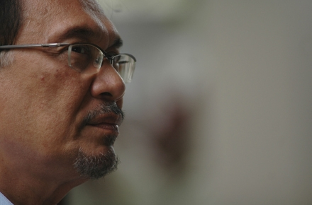 Anwar Ibrahim. Photo by udeyismail on flickr.