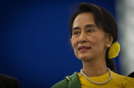 Daw Aung San Suu Kyi. Photo from wikimedia commons.