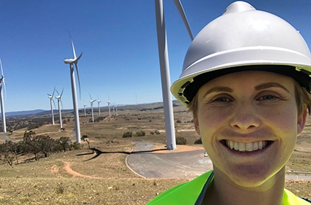 Master of Climate Change student Caitlin Sears has recently landed her dream job with ARENA.