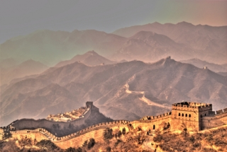 The Great Wall of China. Photo by Jonathan Corbett on flickr.