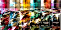 Abstract image of bokeh by Kevin Dooley on flickr