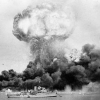The bombing of Darwin. Photo from Wikipedia. 