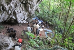A Bronze Age burial jar and other archaeological artefacts have been uncovered by a team of ANU archaeologists working in the Lake Towuti region of Sulawesi, Indonesia.