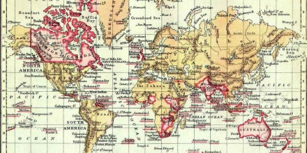 Colonial Map British Empire