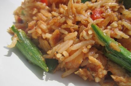 Rice is used to curry favour with Indonesian voters. Photo by Great British Chefs on flickr.