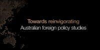 Australian foreign policy studies lecture