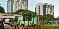 Twin tower block for State Islam University Sunan Ampel, Indonesia