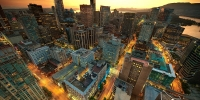 Image of downtown Vancouver, Canada.