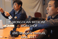 Mongolian Medicine workshop 2017
